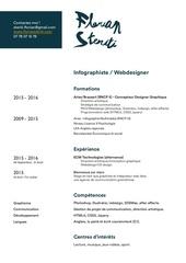 Fichier PDF cv florian steriti
