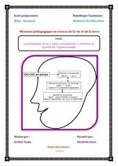 memoire pedagogique kamel nadia