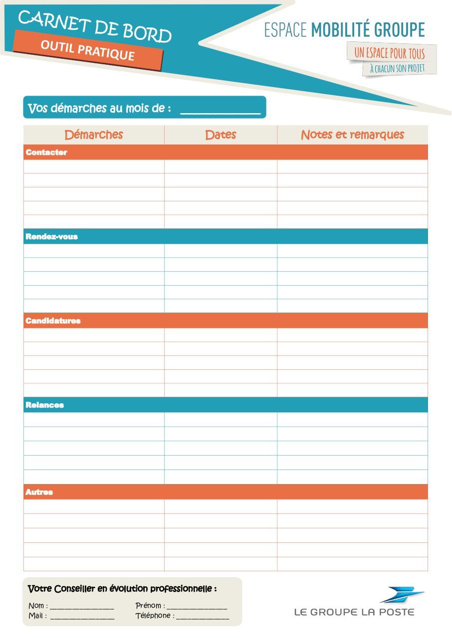 Carnet de bord EMG par CAZAUD Maryline - Fichier PDF
