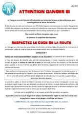 tract code de la route 072017