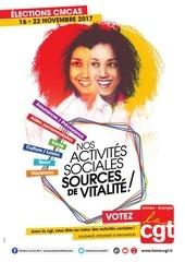 affiche election cmcas