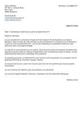lettre motivation caronmatthieu