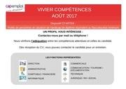 vivier competences cap emploi aout 2017