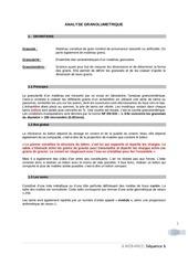 Fichier PDF analyse granulometrie
