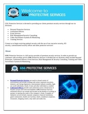Fichier PDF executive bodyguard services