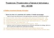 programmation sciences cm1