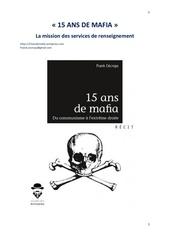 15 ans de mafia la mission de renseignement