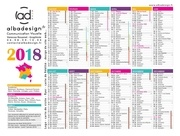calendrier2018albadesign 1