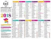 calendrier2018albadesign