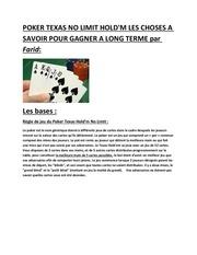 les maths du poker 7