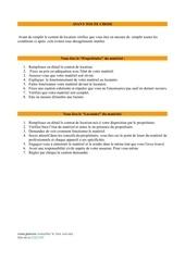 modele de contrat de location