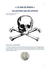 Fichier PDF 15 ans de mafia les premiers pas de criminel