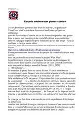 Fichier PDF electric underwater power station