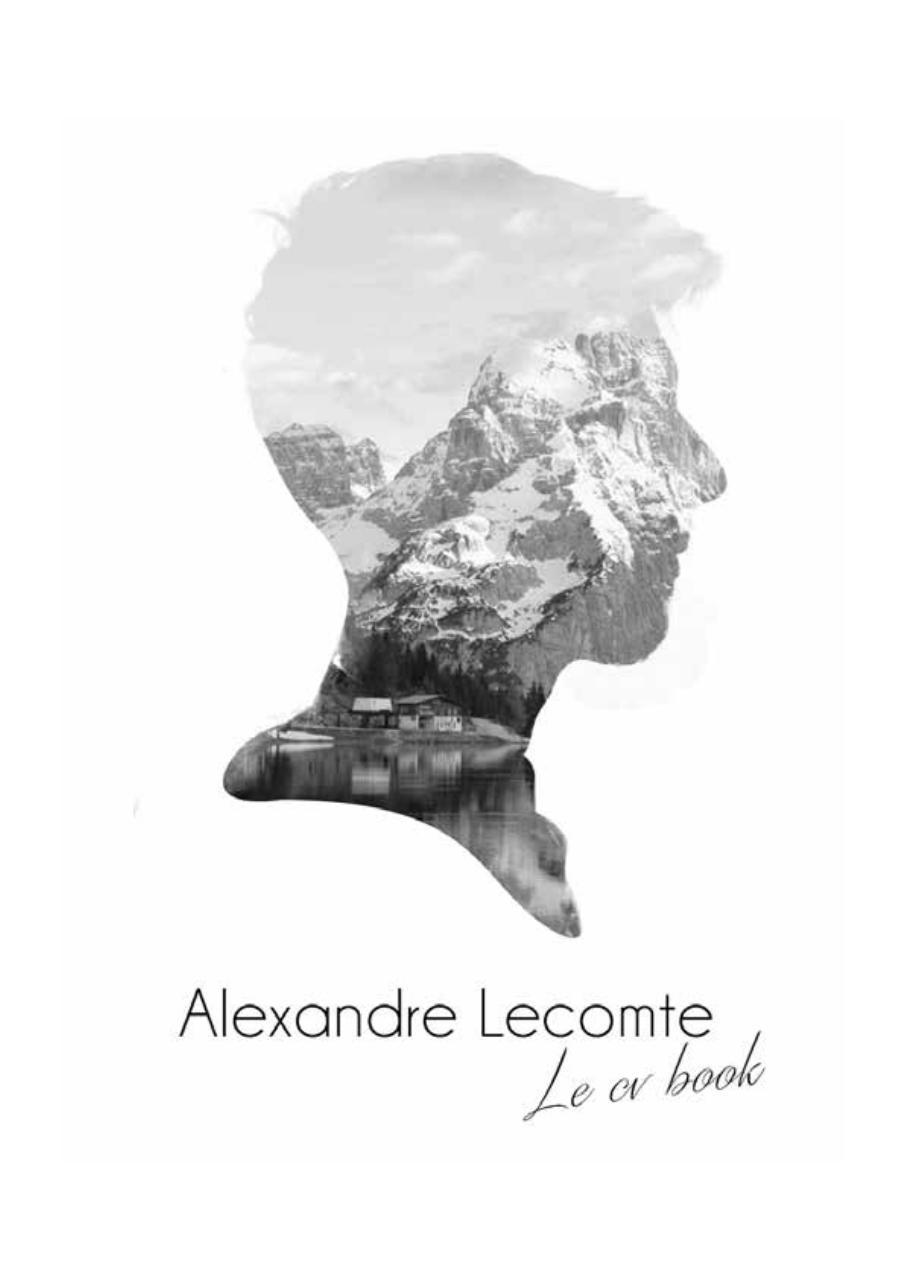 cv book alexandre lecomte