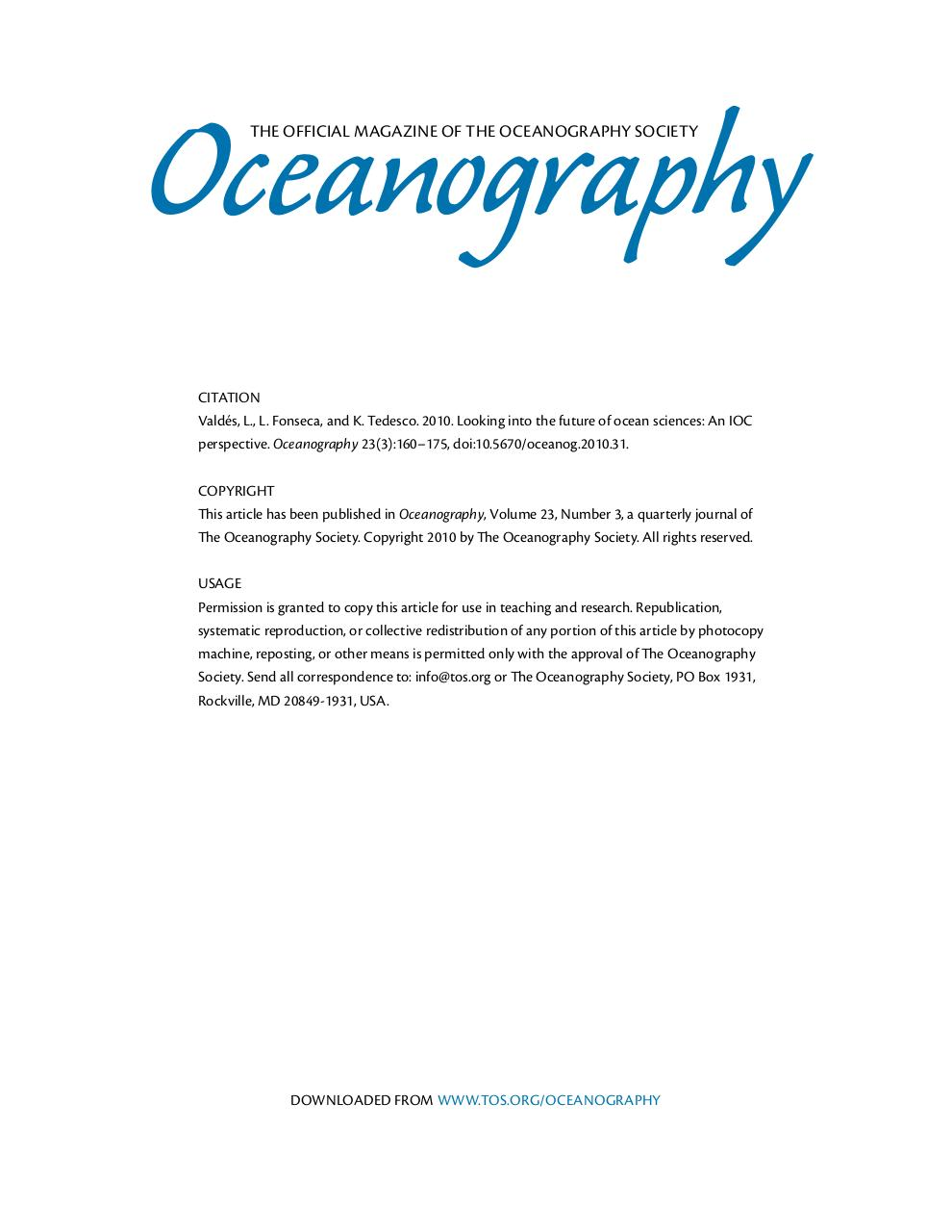 Oceanography article.pdf - page 1/17