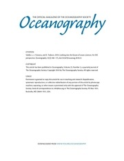 oceanography article