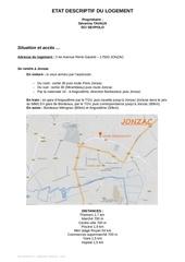 Fichier PDF descriptif logement
