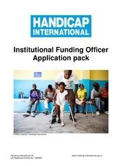institutional funding officer major giving officer