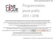 livret programmation films jeune public 2017 2018