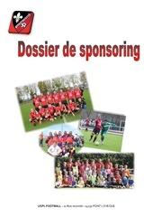 dossier de sponsoring 2017