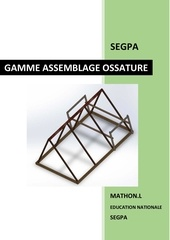 gamme assemblage ossature bois