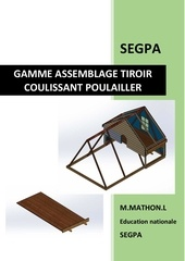 gamme assemblage tiroir coulissant