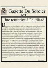 la gazette du sorcier n 1 1