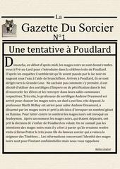 la gazette du sorcier n 1