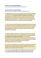 Fichier PDF sainte catherine