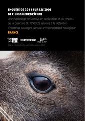 enquete sur les zoos de l union europeenne 2011