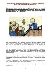 fasification jesus annoncerait il mahomet dans l evangile