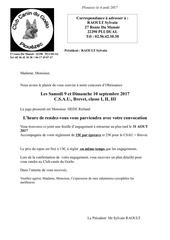 Fichier PDF inscription concours canin goelo