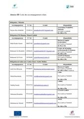 hi ev liste des accompagnateurs relais