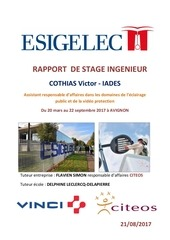 rapport stage responssable d affaires cothias victor ia des