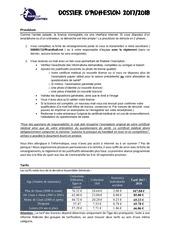 dossier adhesion handball contrex 17 18