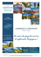 offre derniere minute cambodge singapour