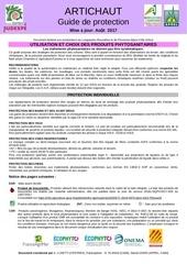 guide protections artichaut 2017