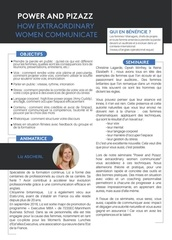 Fichier PDF power and pizazz how extraordinary women communicate