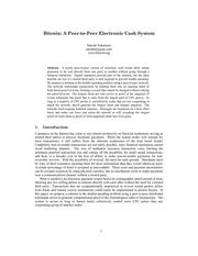 bitcoin systeme