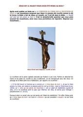jesus est il maudit pour avoir ete crucifie au bois