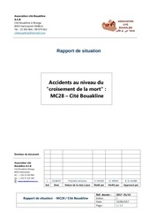 rapport de situation accidents