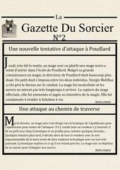 la gazette du sorcier n 2 1
