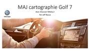 Fichier PDF maj cartographie golf 7