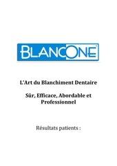 Fichier PDF resultats patients des differ ents traitements blancone