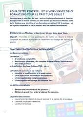 details des modules de formations sarex conseils