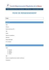 Fichier PDF fiche renseignement cavalier
