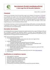 recrutement coordinateur rla 2017