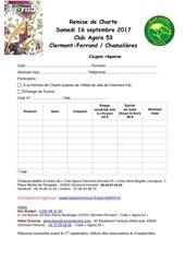 bulletin d inscription remise de charte