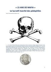 Fichier PDF 15 ans de mafia le lucratif marche des pedophiles