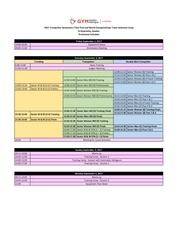 2017 tg third trial schedule